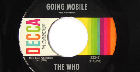Image of Going Mobile record by The Who